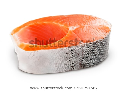 raw fish isolated Stock photo © M-studio
