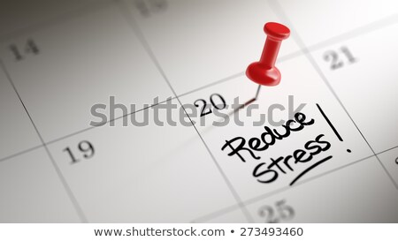 Reduce Stress message on notebook Stock photo © fuzzbones0