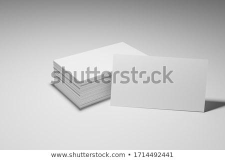 professional busines card 2 stock photo © vadimsoloviev