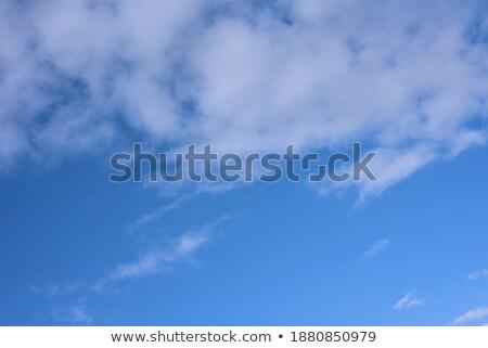 Halom felhők kék ég fölött égbolt háttér Stock fotó © tuulijumala