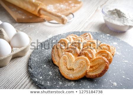 Pasta kurabiye fil kulak tatlı tatlı Stok fotoğraf © Digifoodstock