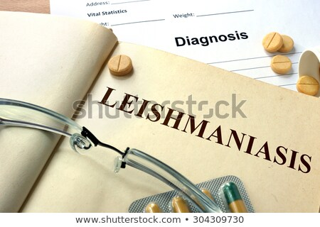 Diagnózis orvosi betegség szelektív fókusz kép 3D Stock fotó © tashatuvango
