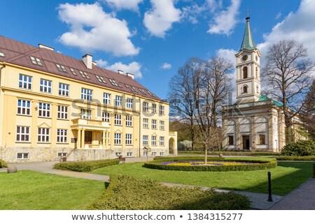 Evangelical Church in Wisla, Poland Stock photo © benkrut