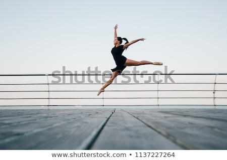 подростку гимнастики девушки медицинской ребенка Сток-фото © IS2