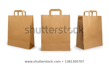 brown paper bag stock photo © devon