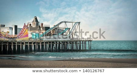 Beach at seaside heights, new jersey Stock photo © IS2
