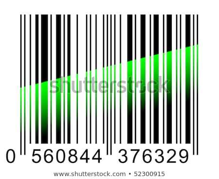 barcode with rays Stock photo © get4net