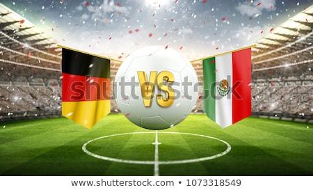 Football match Germany vs. Mexico Stock photo © Zerbor