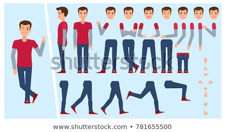 character creation options vector illustration stock photo © robuart