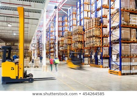 Modern warehouse Stock photo © boggy