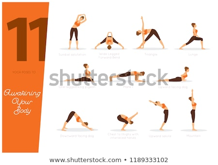 11 poses to awaking your body stock photo © anastasiya_popov
