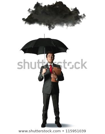 危機 · 金融 · 難しさ · ビジネスマン · 椅子 · ビジネス - ストックフォト © alphaspirit