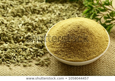 fennel powder stock photo © karandaev