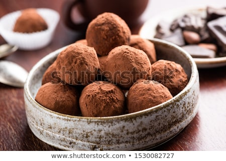 Fond bonbons blanche dessert sweet sucre Photo stock © FOKA