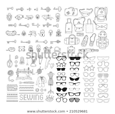 lege · schets · doodle · icon · Open - stockfoto © rastudio
