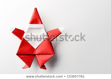 Handcrafted Gift Merry Christmas Cartoon Character Stock photo © robuart