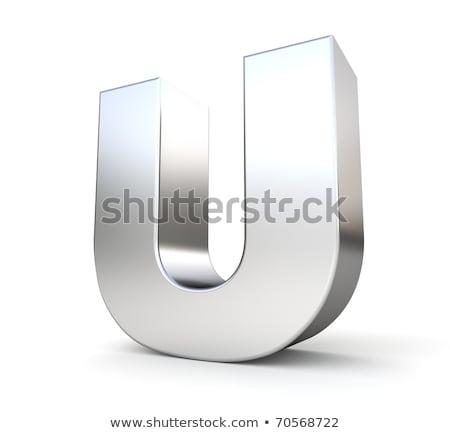 chrom · Schriftart · farbenreich · Reflexionen · Buchstaben · i · 3D - stock foto © djmilic