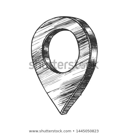 Map Pointer Gps Location Sign Detail Symbol Vector Stock photo © pikepicture