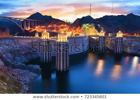 フーバー·ダム · 水 · 風景 · 業界 - ストックフォト © vichie81