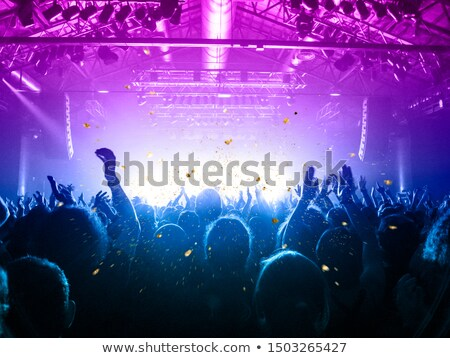 Público viver concerto brilhante luz Foto stock © lichtmeister