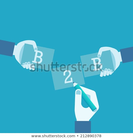 B2B marketing vector concept metaphor Stock photo © RAStudio