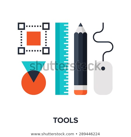 Web Design, Tools and Instruments for Creativity Stock photo © robuart
