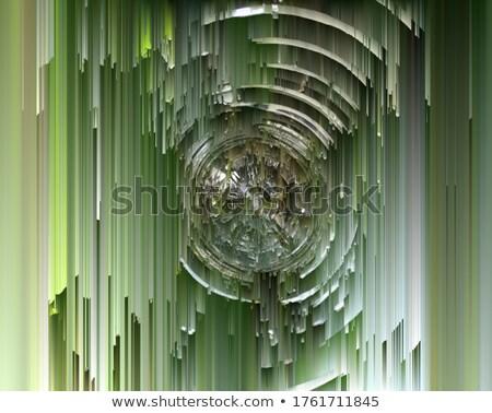 Resumen Blur subterráneo túnel luces fondo Foto stock © boggy