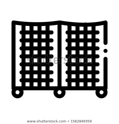 Kafes ikon vektör örnek imzalamak Stok fotoğraf © pikepicture