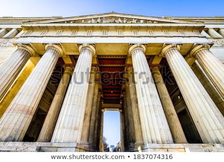 Münih Almanya Bina şehir seyahat mimari Stok fotoğraf © borisb17