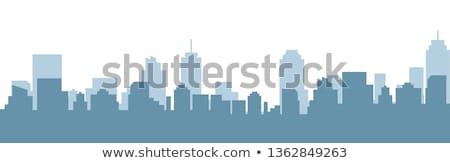 Városkép vektor terv iroda épület város Stock fotó © Ggs