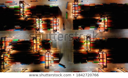 container terminal Stock photo © jeayesy