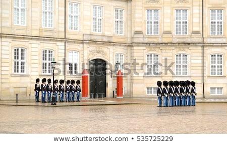 Real guarda rainha Dinamarca edifício viajar Foto stock © leeser