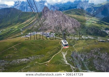 cableway on Dolomites Stock photo © Antonio-S