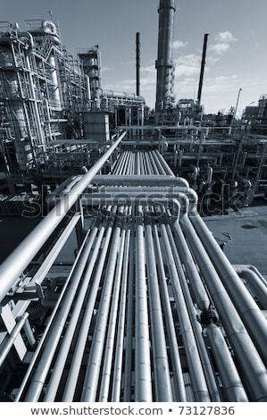oil gas and fule industrial installation stock photo © cozyta
