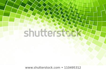 abstrato · verde · eco · texto · assinar · branco - foto stock © pathakdesigner