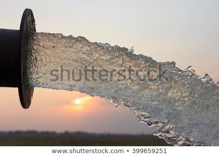 Eau douce tropicales sécher pays eau Photo stock © smithore