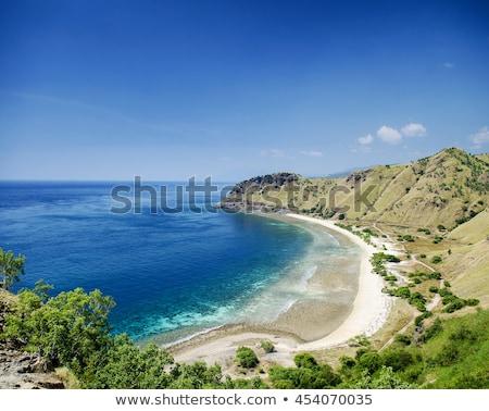 praia · areia · tropical · Ásia · turismo · costa - foto stock © travelphotography