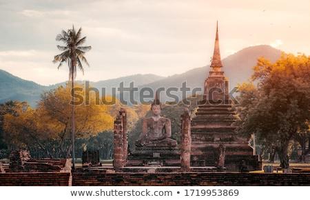 Historique buddha repère bâtiment portrait culte Photo stock © bbbar