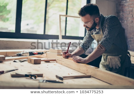 Man measuring furniture Stock photo © photography33
