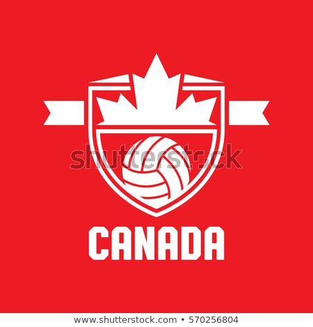 Stock photo: Canadian Volleyball Team