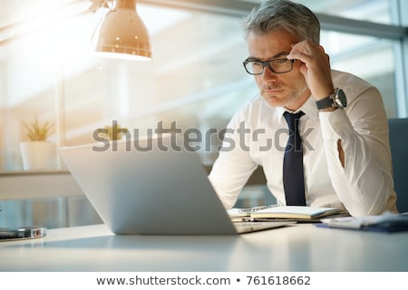 Concerned businessman Stock photo © photography33