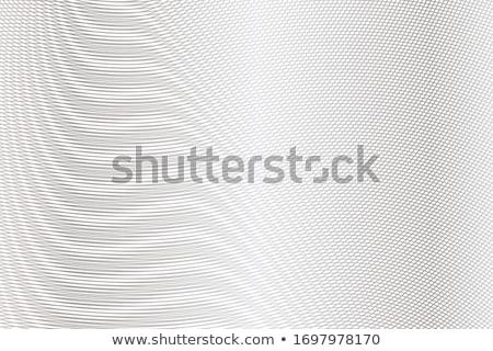 metal grid perspective Stock photo © smithore