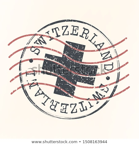Swiss post stamp Stock photo © Taigi