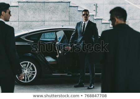Businessman with bodyguards Stock photo © stevanovicigor