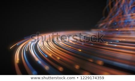 Vezel optische licht sport oorlog Stockfoto © arcoss