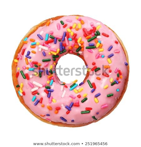 Sprinkle Donuts Stock photo © Gordo25