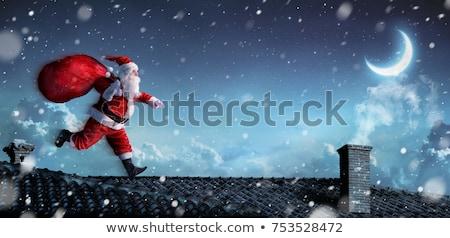представляет иллюстрация Дед Мороз сумку вектора Сток-фото © UPimages