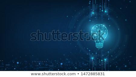 tecnologia · ilustração · preto - foto stock © 3mc