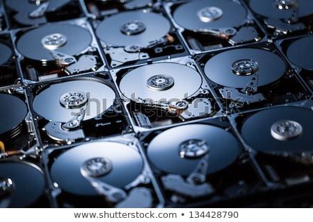 Dysk twardy typowy laptop mosiądz kontakt Zdjęcia stock © ferdie2551