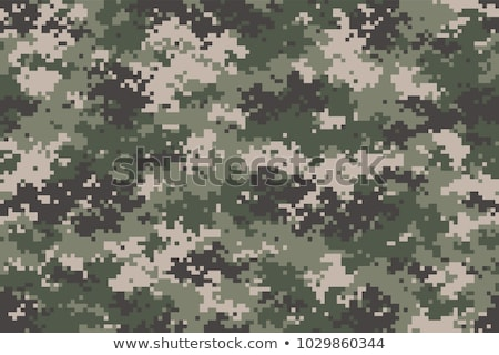 army digital camouflage seamless texture stock photo © tashatuvango